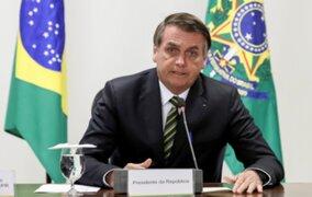 Brasil: Bolsonaro amenaza con cancelar licencia a TV Globo por vincularlo con asesinato