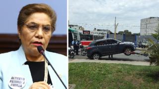 VIDEO: Grúa se lleva vehículo de Luz Salgado por estar mal estacionado