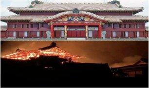 Japón: incendio destruye emblemático Castillo Shuri
