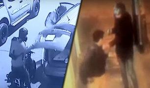 La Victoria: hampones asaltan camioneta en calle Pietro Vittorelli
