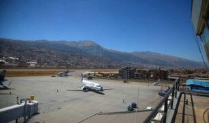 Vuelos del aeropuerto del Cusco fueron suspendidos por problemas en pista de aterrizaje