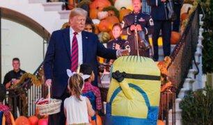 Donald Trump: la cruel broma del mandatario a niño disfrazado de 'Minion'