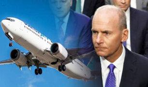 EEUU : compañía Boeing admite errores en desarrollo del avión 737 Max