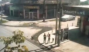 Argentina: madre e hijas fueron embestidas por auto fuera de control
