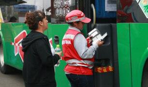 Feriado largo: Sutran intensificará operativos contra transporte informal