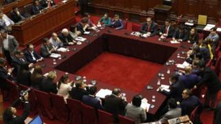 Comisión Permanente: Olaechea convoca a nueva sesión para este 6 de noviembre