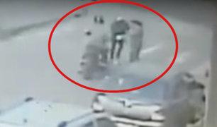 Ate: mujer sufre el robo de 19 mil soles tras salir de agencia bancaria
