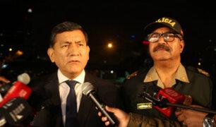 Morán aclara que retiro de resguardo policial es a jueces, fiscales, ministros y congresistas
