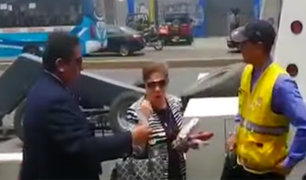Luz Salgado respondió en redes sobre camioneta mal estacionada