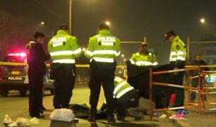 Los Olivos: conductor extranjero atropella y mata a pasajero tras incidente
