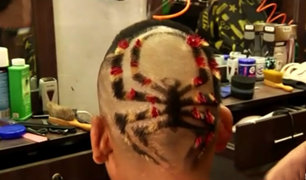 El Agustino: barbería ofrece novedosos looks por Halloween