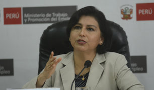 Ministra Cáceres: aumento de sueldo mínimo está previsto para comienzos del 2020