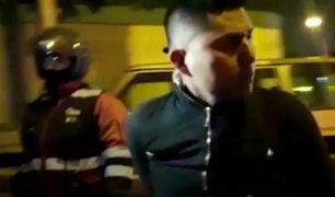 Pueblo Libre: ladrones de autopartes son detenidos tras intensa persecución