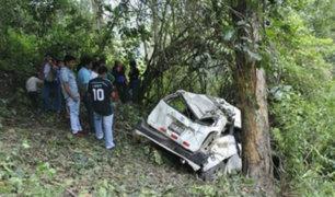Áncash: un menor fallecido y cuatro heridos dejó accidente vehicular