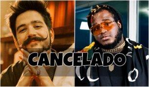 'Halloween de Moda': concierto de Camilo y Sech fue cancelado