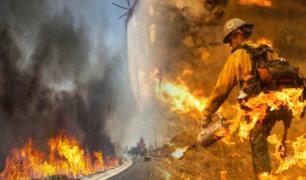 """EEUU: emiten alerta roja """"extrema"""" por incendios en California"""