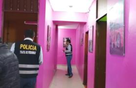PNP rescata 8 mujeres que eran explotadas sexualmente en San Martín de Porres