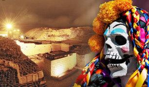 Huaca Pucllana: realizaron celebración por el Día de los Muertos