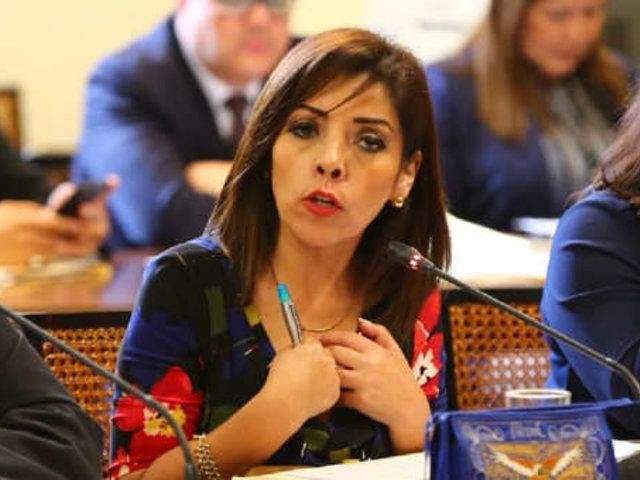 Alejandra Aramayo tras ingresar al Congreso: La gente no me ha abucheado e insultado