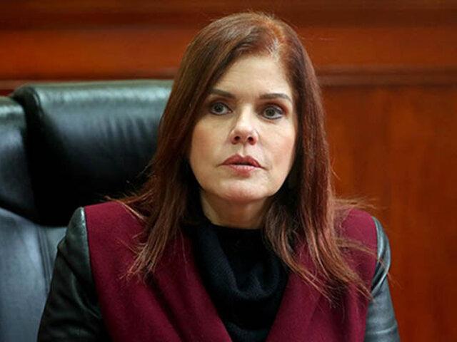 Aráoz: ante la falta de un pleno, todavía sigo siendo vicepresidenta