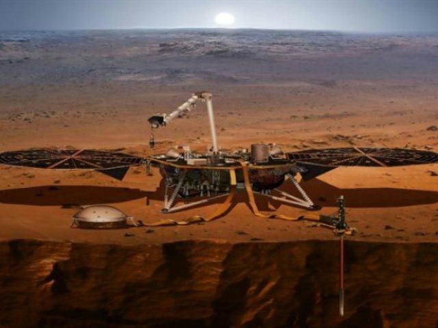 NASA difunde audios de 'martemotos' captados en el planeta rojo