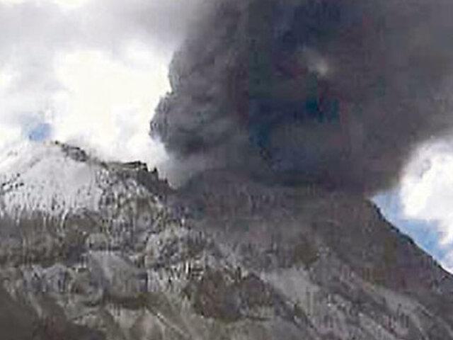 Moquegua: no cesa actividad sísmica en volcán Ubinas