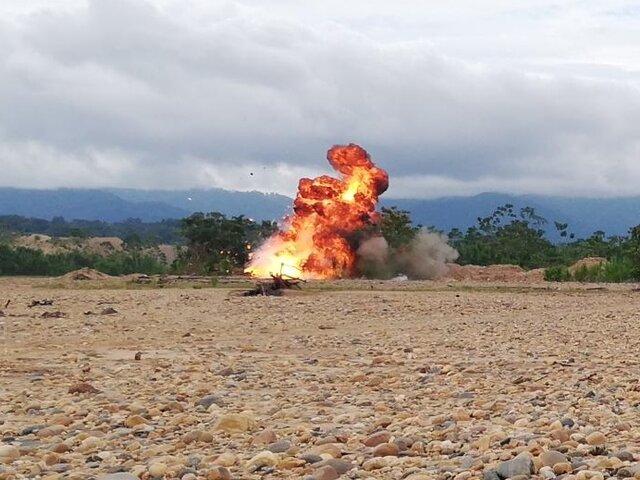 Golpe a la minería ilegal: incautan herramientas valorizadas en casi S/4 millones