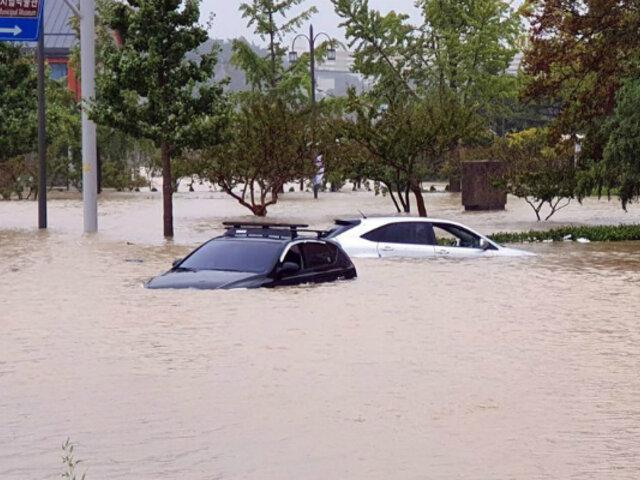 Corea del Sur: nueve muertos deja paso de tifón Mitag