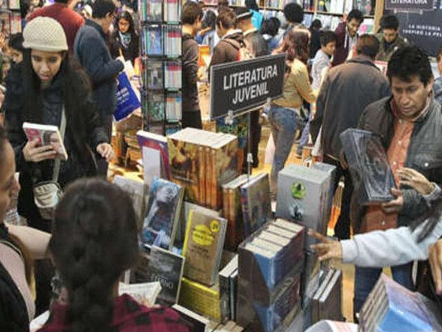 Inauguran la 8° edición de la Feria del Libro en Trujillo
