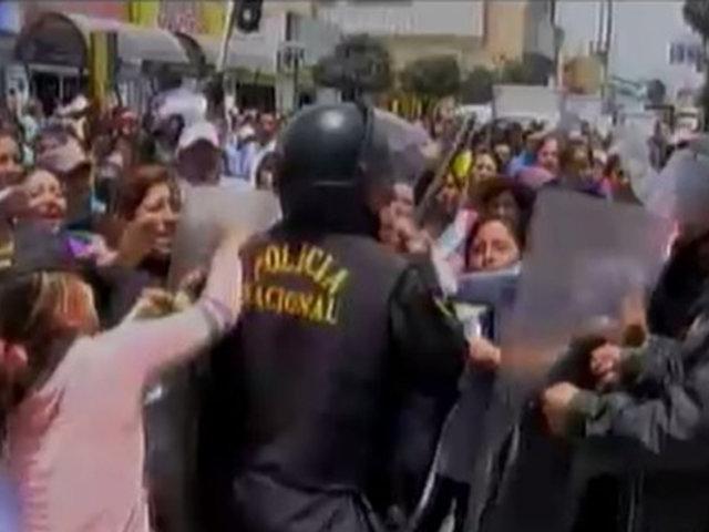 Se incrementan las agresiones a serenos y policías en el interior del país