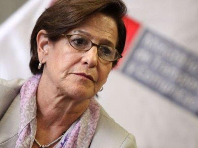 Confirman caso de Covid-19 en pabellón donde se encuentra Susana Villarán