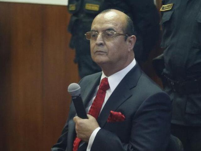 Fiscalía reprogramó interrogatorio a Montesinos para el 4 de noviembre