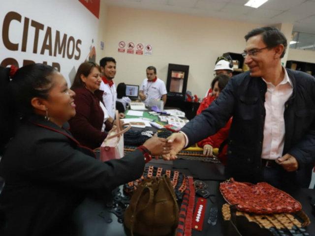 Vizcarra exhorta a la población a evaluar adecuadamente a sus candidatos al Congreso