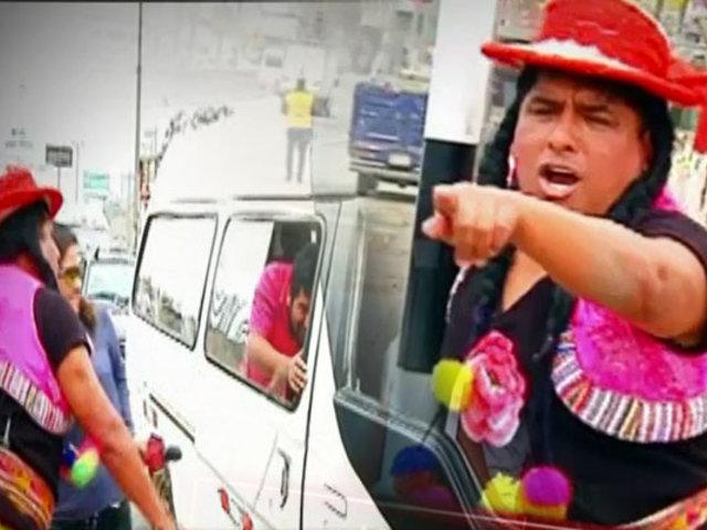 ¡Cuidado! ´La chola Cachucha´ salió a las calles a poner derechitos a los informales