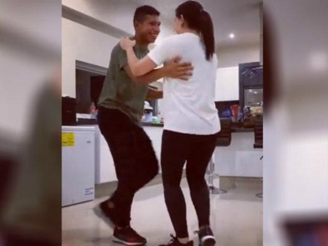 Edison Flores sorprende con estos pasos de baile para su boda