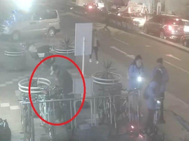 Miraflores: sujeto roba en cuestión de segundos una bicicleta