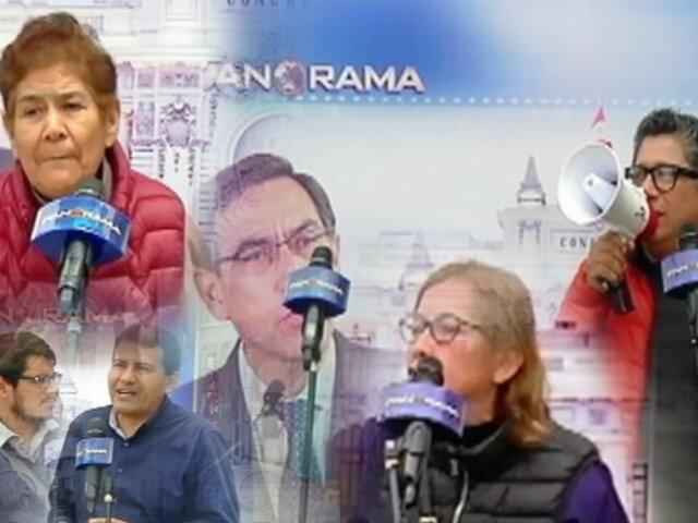 La voz del pueblo: polarización en las calles por el cierre del Congreso