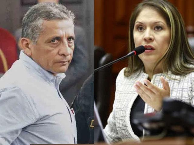 Yeni Vilcatoma confirmó que visitó a Antauro Humala en penal militar