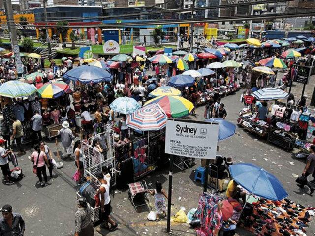 La Victoria: aprueban ordenanza para regular comercio ambulatorio en espacios públicos