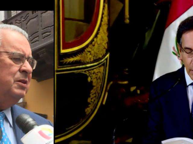"""Allan Wagner: """"Situación del Perú está dentro del marco constitucional"""""""