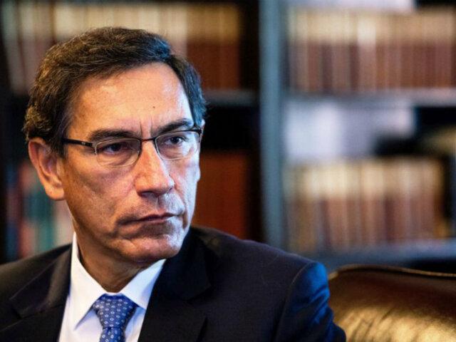 """Vizcarra sobre allanamiento a Luciana León: """"respetamos la independencia de poderes"""""""
