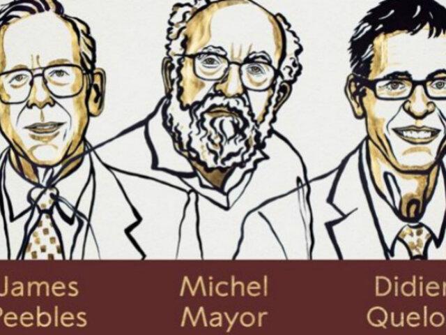 Nobel de Física: 3 investigadores son premiados por trabajos en cosmología y hallazgo de expoplaneta