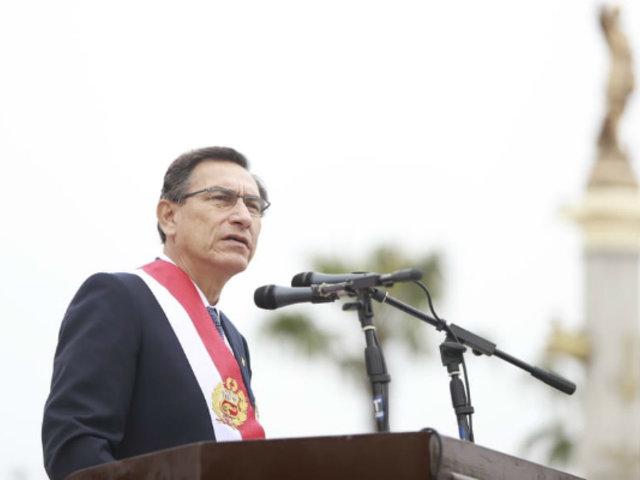 """Martín Vizcarra sobre crisis política: """"Hay que dejar atrás la polarización"""""""