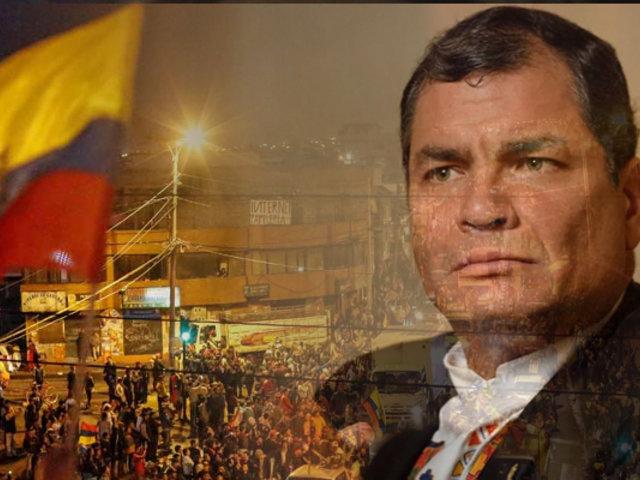 """Correa pide adelantar elecciones en Ecuador: """"Los conflictos en democracia se resuelven en las urnas"""""""