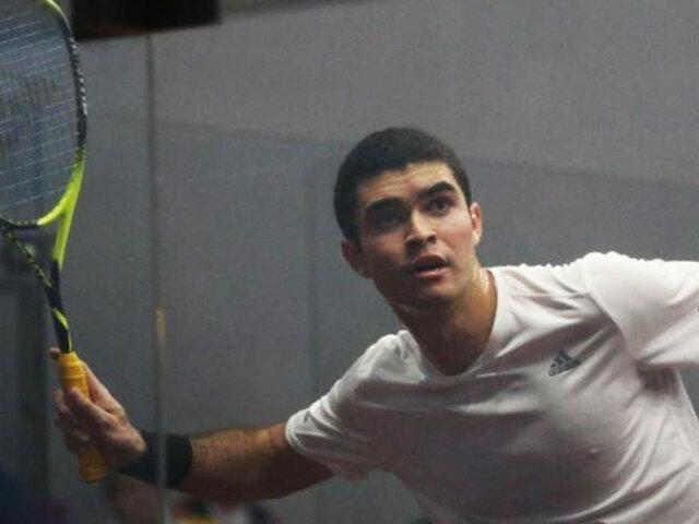 Diego Elías se enfrentará al 4 del mundo en US Open de Squash