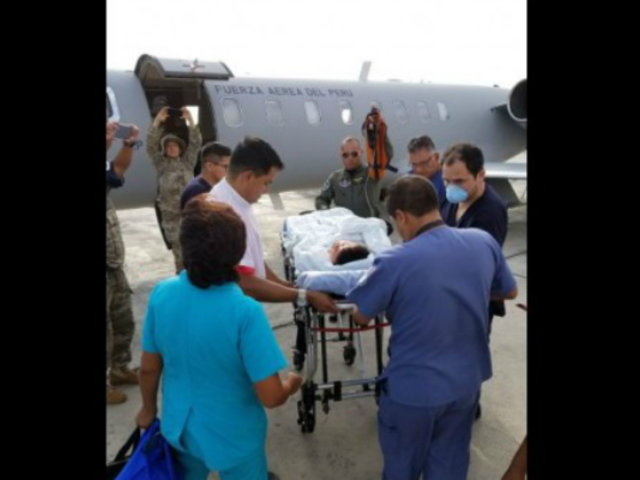 Piura: derivan a Lima a niño que se quemó con chicha de jora hirviendo