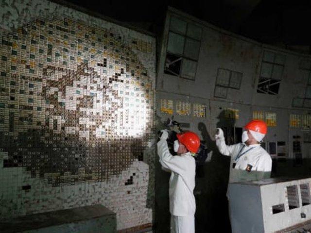 Ucrania: abren las puertas del famoso reactor 4 de Chernobyl que ocasionó catástrofe