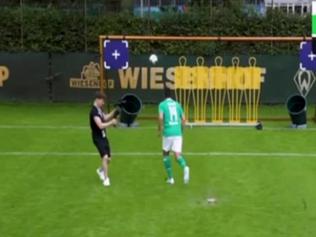 Claudio Pizarro demostró categoría en reto de FIFA20
