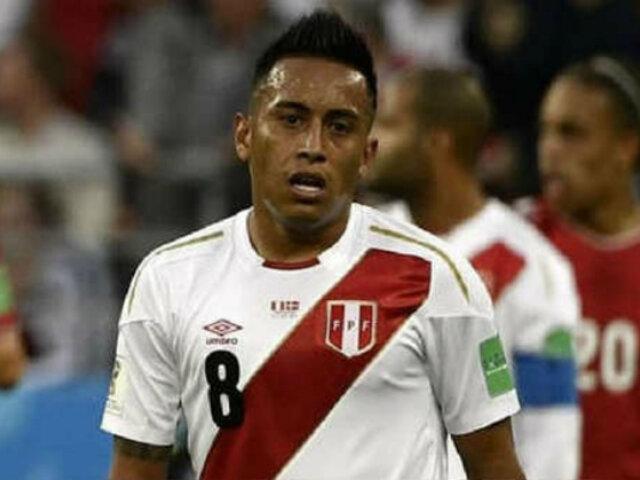 Perú vs. Uruguay: Christian Cueva no será titular en partido amistoso