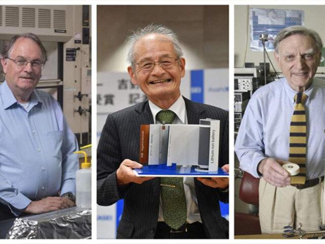 Los ´padres´ de la batería del celular acaban de ganar el Nobel de Química